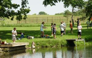 After School - Camp Oaks program visits the trout farm